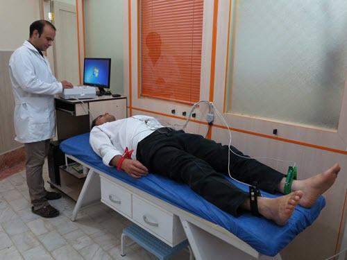 الکتروکاردیوگراف دانشگاه محقق اردبیلی مرکز سلامت و تندرستی دانشگاه محقق اردبیلی