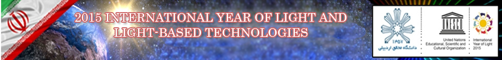 2015 INTERNATIONAL YEAR OF LIGHT AND LIGHT-BASED TECHNOLOGIES