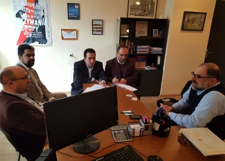 UMA officials visiting from Georgian Universities