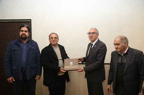 Vice - Rector of Kafkas University visited University of Mohaghegh Ardabili
